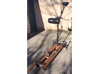 'ExerSkier' Ski Exercise machine in good condition suitable for home gym / fitness training. FREE