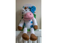 ***Microwavable Heatable Soft Daisy the Cow Teddy*** LAST CHANCE