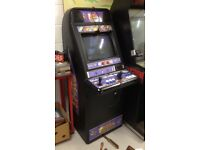 2 player MAME arcade game machine cabinet over 7000 games