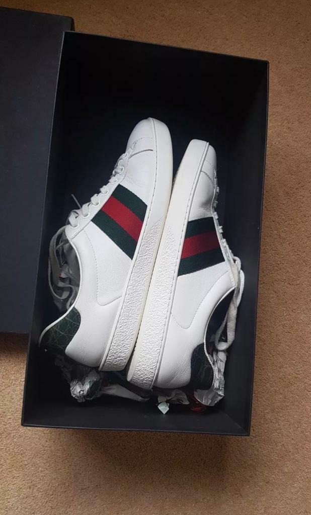 097b0d0d61e Gucci Ace men s trainers authentic size 8