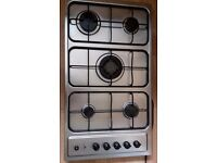 Hob Gas Large 5 Ring White-Westinghouse - This is in near perfect condition!