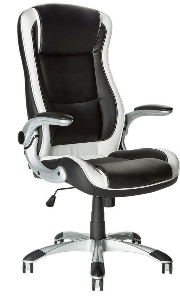 Astonishing Black White Argos Computer Office Desk Gaming Chair Rrp 99 In Reading Berkshire Gumtree Gmtry Best Dining Table And Chair Ideas Images Gmtryco