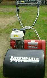 LAWNFLITE TD500GH PRO GOLF PROFESSIONAL 10 BLADE CYLINDER LAWN MOWER HONDA ENGINE