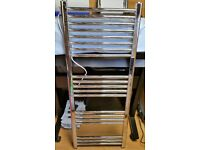 Straight Heated Towel Rail 500 x 1200mm + Electric Heating Kit