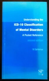 'Understanding The ICD-10 Classification Of Mental Disorders' Pocket Reference (2002)