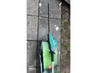 Qualcast pole hedge trimmer -18v