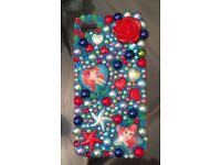 Handmade Ariel themed case iPhone 4