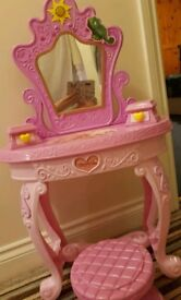 Rapunzel Dressing Table & Stool
