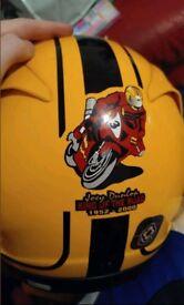 Joey dunlop helmet