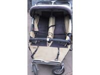 TWIN TWIST Double BUGGY Used. Good condition.