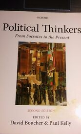 Political Thinkers - From Socrates to the Present