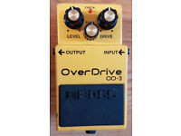 Boss OD-3 - Over Drive Guitar Pedal.