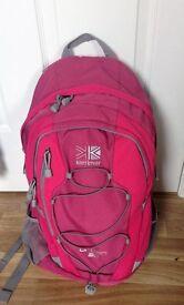 Rucksack/backpack