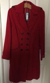 Ladies Wool-Cashmere Coat
