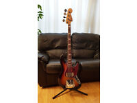 Classic FENDER Jazz Bass 1969 USA, Sunburst - Excellent condition + Original Case
