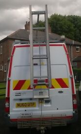Ford Transit high roof easi-load ladder rack