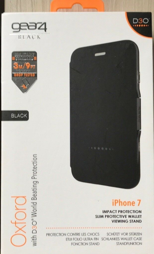 iPhone 7 Premium Gear4 D30 Military Standard Case - NEW