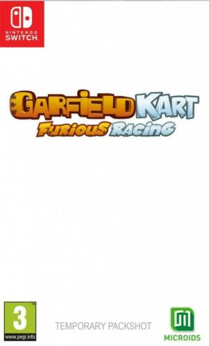 Switch Garfield Kart: Furious Racing Nintendo