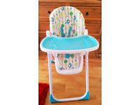 BABY HIGH CHAIR FROM TOYS R US; VERY GOOD CONDITION!!!