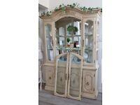 Laura Ashley Style / Shabby Chic Display Cabinet