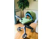 STOKKE Xplory V3 Pram(carrycot)/pushchair. Beautiful Used Cond. Plus Accessories