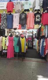 Market Stall Birmingham Rag Market