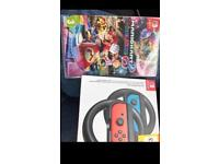 Neon Nintendo switch mega bundle with limited edition rare amiibo