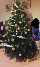 Artificial Christmas tree - 6ft