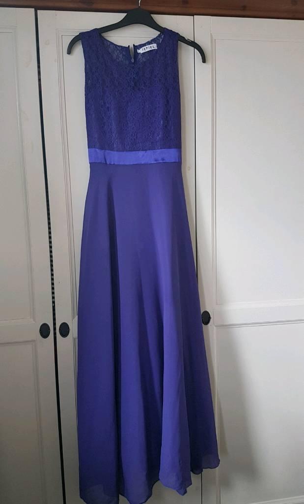 Girls size 14 yrs purple prom/bridesmaid dress | in Bradford, West ...