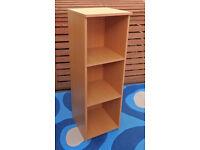 Open bookshelf/filing cabinet for office/study