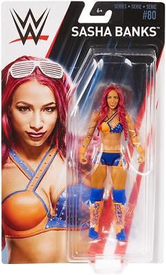Sasha Banks Wwe Mattel Basic Series 80 Brand New Action Figure Mint Packaging