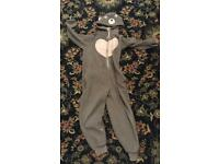 Fat face bear onesie size 11-12 years