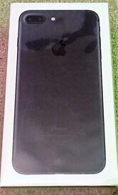 iPhone 7 Plus 256GB in Black , unlocked (Swap poss.)