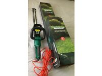 New electric hedge trimmer