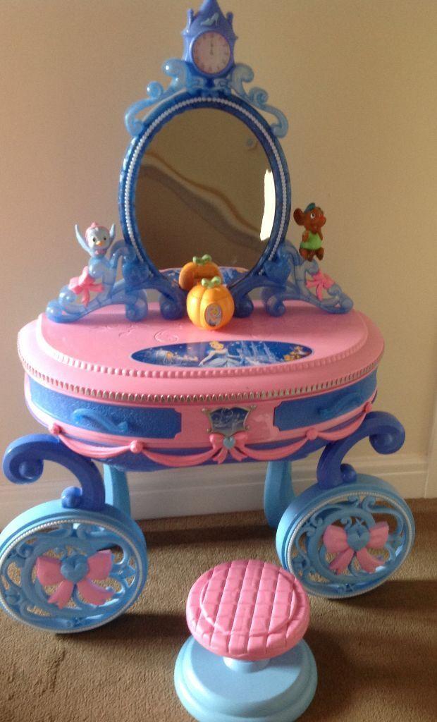 Disney princess Cinderella carriage vanitydressing table  : 86 from www.gumtree.com size 620 x 1024 jpeg 82kB