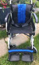 Elite lightweight folding wheelchair
