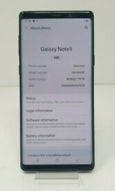 SAMSUNG Note 9 NEW Condition (SEND OFFERS) + Free Case
