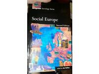 Social Europe study book