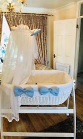 M j mark baby crib