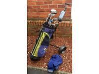 Set of Mixed Golf Clubs