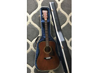 RARE 1980 Ibanez S300SV Acoustic Guitar - Made in Japan + Hard Case