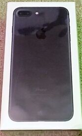 iPhone 7 Plus 256GB in Black (Swap poss.)