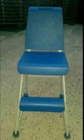 Kids Tall Blue Chair