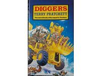 Diggers, Part of the Nome Trilogy By Terry Pratchett Books/book - Packaging costs are free if posted