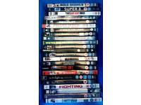 73 DVDs, Great movies. Titles in pictures. Less than £ 1 each