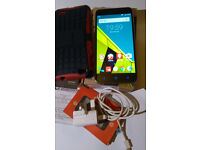 """Excellent Unlocked Vodafone Ultra 6, 5.5"""", Android 5.1.1, 16MB, 1 month remaining warranty,case"""