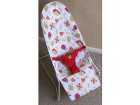 Kiddicare Garden Friends Baby Bouncy Cradle