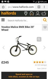 Voodoo bmx for sale good condition all worka fine