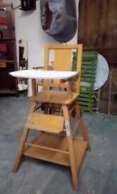 Retro High Chair