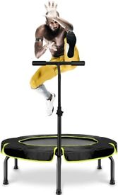 """Trampoline 40"""" Fitness trampoline indoor & outdoor NEW & NEVER BEEN OUT OF BOX - GENUINE BARGAIN"""